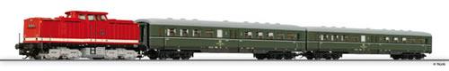 Tillig 01425 - Passenger Train Beginner Set with advanced track oval and siding