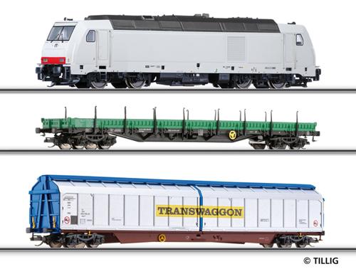 Tillig 01428 - Beginner set with bedding-track-system