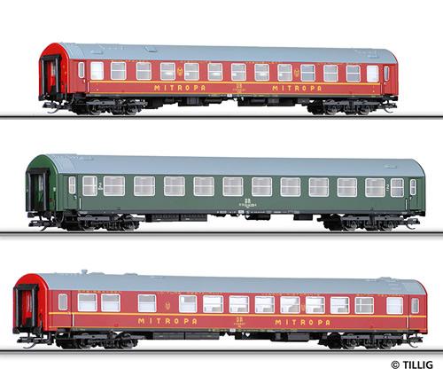 Tillig 01576 - Passenger Coach Set