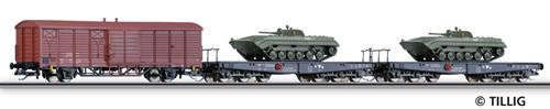 "Tillig 01593 - Freight Car Set Tank Transport"" (part 2)"