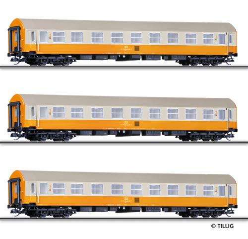 Tillig 01603 - 2nd Class Passenger Coach Set (part 2)
