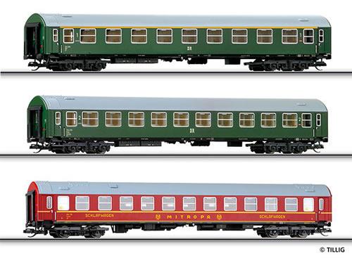 Tillig 01605 - Passenger Coach Set