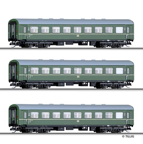 Tillig 01620 - Passenger Coach Set of the DR