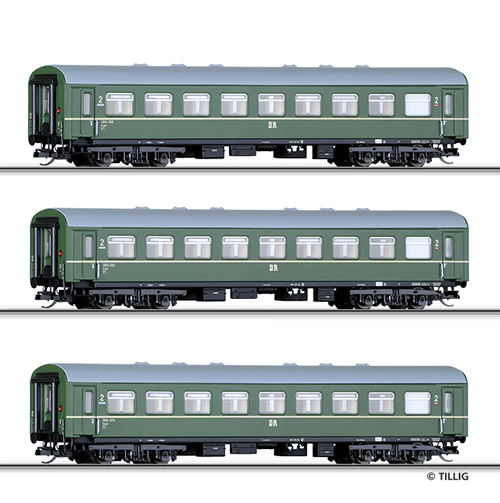 Tillig 01620 - Passenger Coach Set of the DR