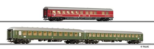 Tillig 01623 - Passenger Car Set of the DB