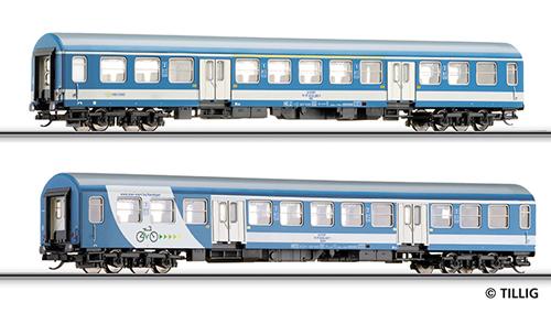 Tillig 01625 - Passenger Car Set of the MAV