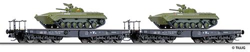 Tillig 01629 - Freight Car Set of the PKP