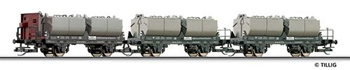 Tillig 01634 - Freight Car Set of the DR