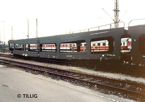 Tillig 01638 - Double-Deck Car Carrier set DDm