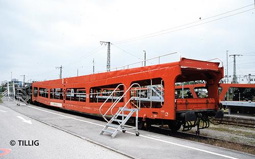 Tillig 01639 - Double-Deck Car Carrier set DDm