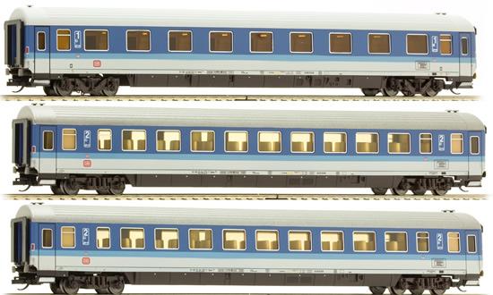 Tillig 01655 - 3pc Passenger Coach Set FD Königssee 1 of the DB