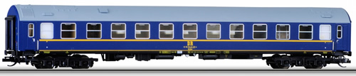 Tillig 01662 - German 3pc Passenger Coach Set of the DR