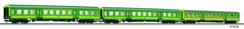 Tillig 01688 - 3pc Passenger Coach Set of the GYSEV