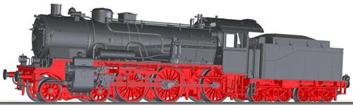 Tillig 02024 - Czechoslovakian Steam Locomotive Class 377.0 of the CSD