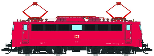Tillig 02395 - German Electric Locomotive Class 139 of the DB AG