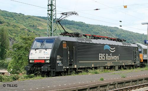 Tillig 02477 - Electric Locomotive BR 189 of the ERS