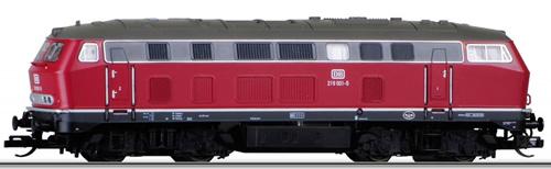 Tillig 02741 - German Diesel Locomotive Class 219 001-5 of the DB