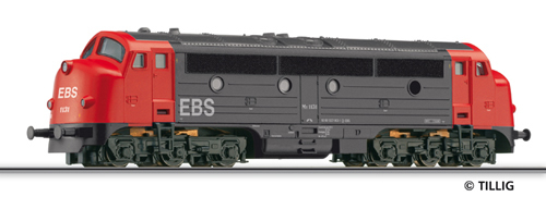 Tillig 04533 - Diesel Locomotive MY 1131 (NoHAB)