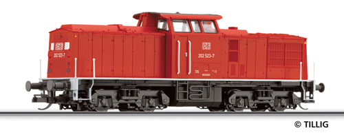 Tillig 04588 - Diesel Locomotive Class 202