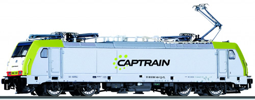 Tillig 04910 - German Electric Locomotive Class 186 of the Captrain