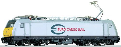 Tillig 04912 - German Electric Locomotive Class 186 of the Euro Cargo Rail