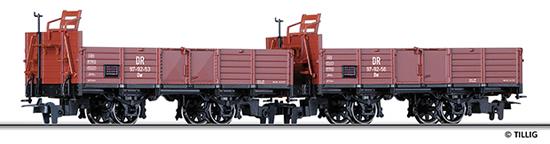 Tillig 05970 - Open Goods Freight Car Set