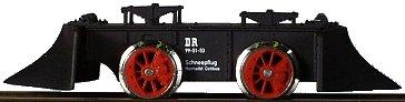 Tillig 05980 - Spreewald Railroad Snow Plow