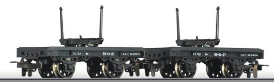 Tillig 05993 - Narrow Gauge Cradle Car Set