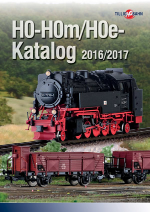Tillig 095931 - 2016/2017 HO-HOm/HOe Catalog