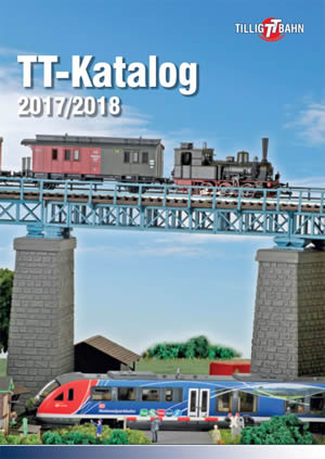 Tillig 09594 - 2017/2018 TT Scale Full Product Catalog