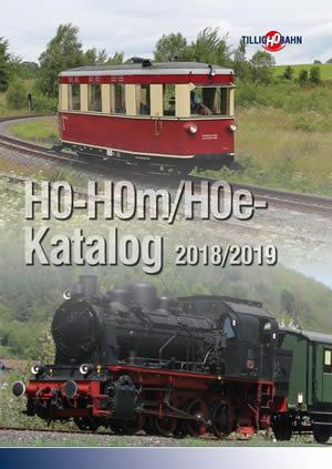 Tillig 09595 - HO-HOm/HOe 2018-2019 Catalog