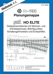 Tillig 09620 - Planning folder, HO-ELITE track system