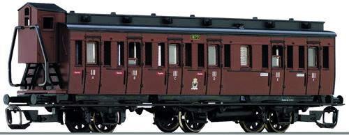 Tillig 13149 - Passenger Coach of the KPEV