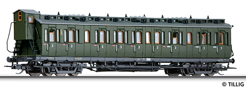 Tillig 13161 - Compartment Coach of the DB