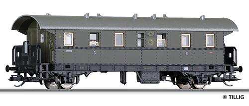 Tillig 13208 - 2-axle Passenger Car of the DRG