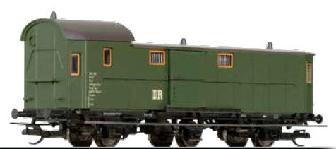 Tillig 13412 - German Baggage Car ex Pw3 pr-11 of the DR