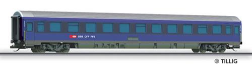 Tillig 13551 - 2nd Class Sleeping Coach Bcm
