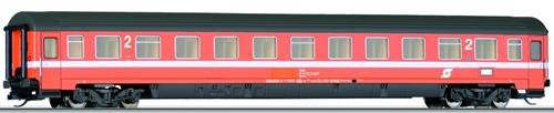 Tillig 13558 - 2nd Class Passenger Coach Bmoz of the OBB