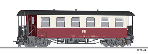 Tillig 13930 - Passenger Coach of the DR
