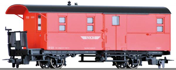 Tillig 13955 - Passenger / Baggage Car KPw of the NKB
