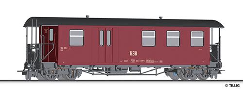 Tillig 13961 - Baggage Car KBD of the HSB