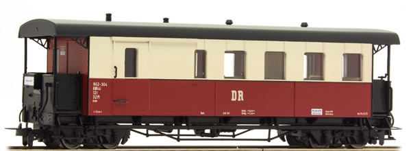 Tillig 13962 - German Baggage Car of the DR