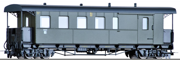 Tillig 13964 - Baggage Car Bauart CPw4i