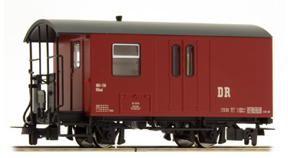 Tillig 13970 - German Baggage Car of the DR