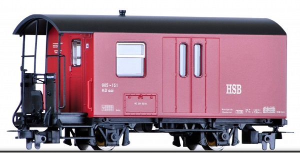 Tillig 13971 - Baggage Car HSB