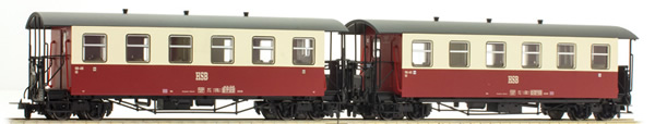 Tillig 13992 - 2pc German Passenger Car Set HSB