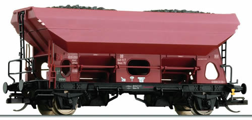 Tillig 14586 - German Hopper Wagon Fcs of the DB