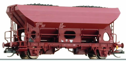 Tillig 14587 - German Hopper Wagon Fcs of the DR