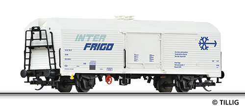 Tillig 14694 - Reefer Car INTERFRIGO of the DR