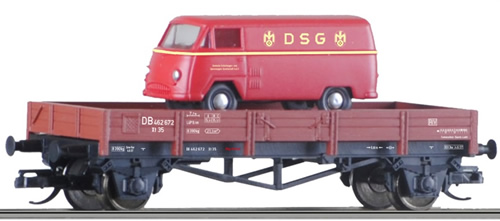 Tillig 14923 - Low Side Car Xt 35 of the DB with Load